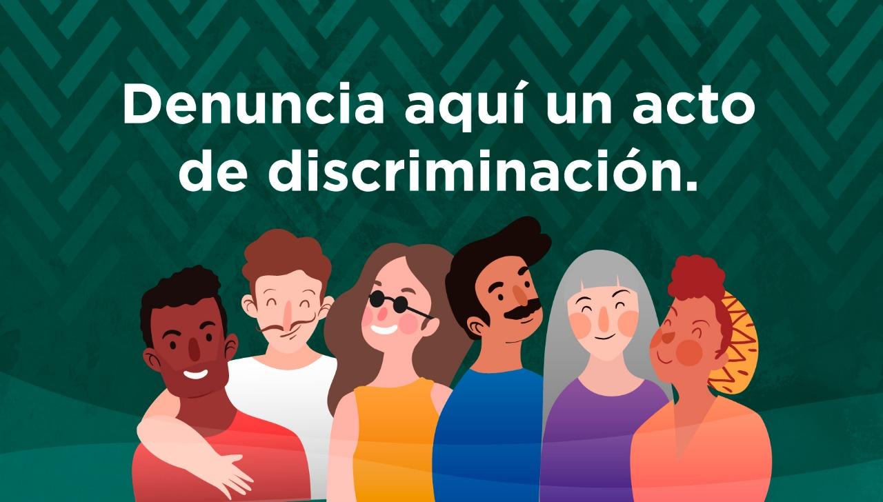 Denunciar discriminación